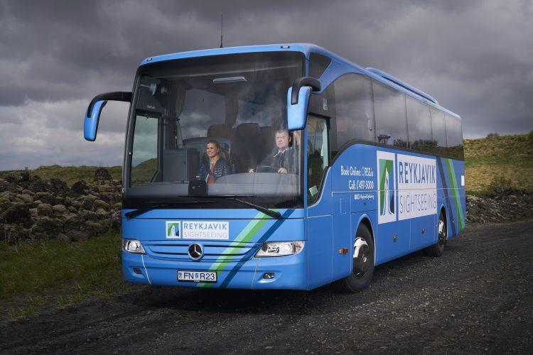 Reykjavík Sightseeing, bus, rúta, ferðaþjónusta, tourism