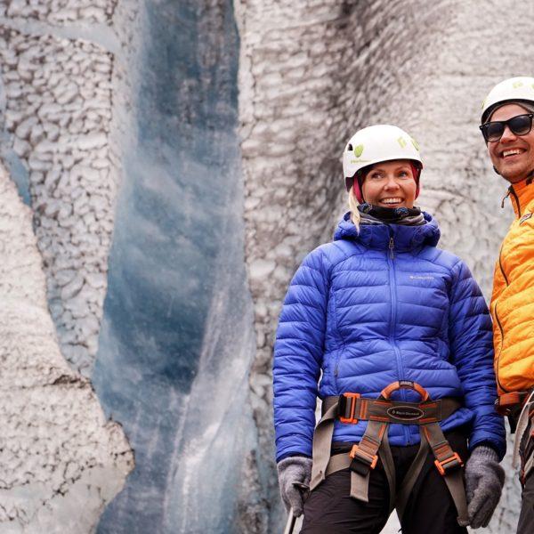 Vatnajokull glacier walk